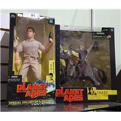 2 NEW IN BOX HASBRO PLANET OF THE APES FIGURES