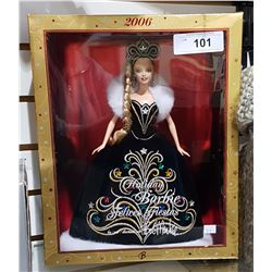 2006 HOLIDAY BARBIE IN BOX BY BOB MACKIE