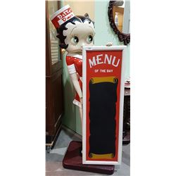 LARGE BETTY BOOP STATUE