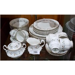 APPROX 38 PC SET ROYAL STANDARD ENGLISH BONE CHINA