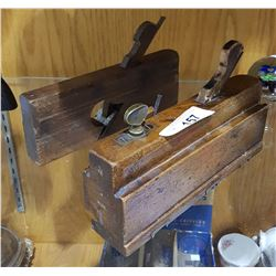 2 ANTIQUE MOLDING PLANES