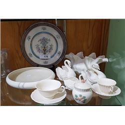 11 PCS LENNOX AMERICAN BELLEEK