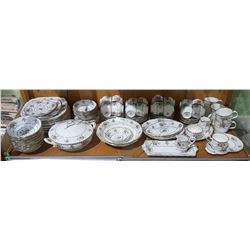 APPROX 93 PC ROYAL ALBERT PETIT POINT CHINA SET