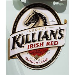 KILLIAN'S IRISH RED TIN BEER SIGN