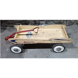 VINTAGE EATONIA WOOD CHILDS WAGON