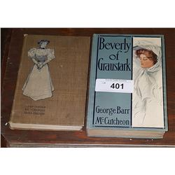 2 ANTIQUE NOVELS