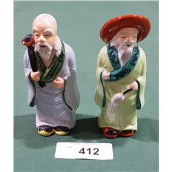 PAIR OF OCCUPIED JAPAN FIGURINES