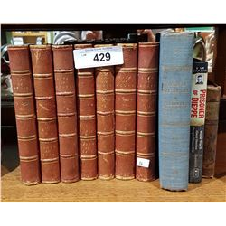 10 VINTAGE/ANTIQUE BOOKS