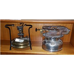 TWO VINTAGE CAMPING STOVES
