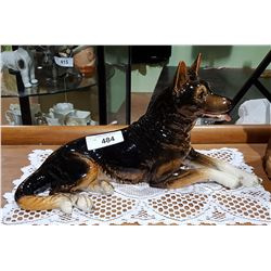 LARGE GOEBEL W. GERMANY GERMAN SHEPHERD FIGURINE