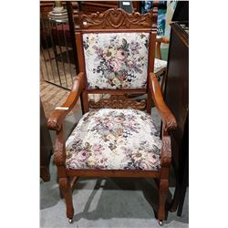 EDWARDIAN PARLOUR CHAIR