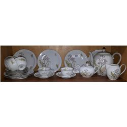 APPROX 20 BAVARIAN CHINA TEASET