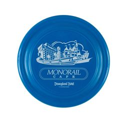 """Disneyland Hotel """"Monorail Cafe"""" Flying Disk Toy."""