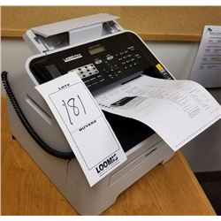 BROTHERS HIGH SPEED MONO LASER FAX MACHINE AND COPIER MODEL 2840/RETAIL$149.87