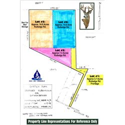 APPROX 3.7 AC/ RUTLEDGE ROAD FRONTAGE  / 1 of 4 YELLOW