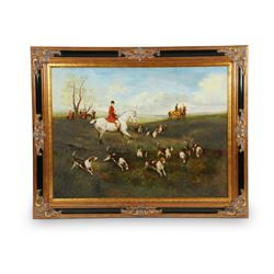 Monumental Hunting Painting