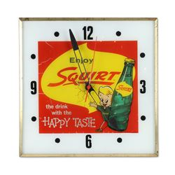 Squirt Backlit Clock