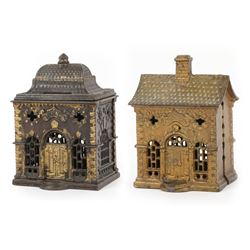Cast Iron Architectural Banks