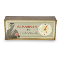 Du Maurier Light up Clock