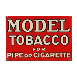 Model Tobacco Tin Sign