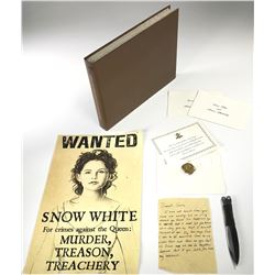 """""""Show White"""" (7) character props from Once Upon a Time Season 1-3."""