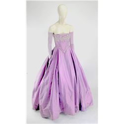 """""""Snow White"""" and """"Emma Swan"""" purple fairy tale gown from Once Upon a Time Season 1-4."""