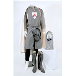 """""""White Knights"""" armor ensemble from Once Upon a Time Season 1, Episode 6."""