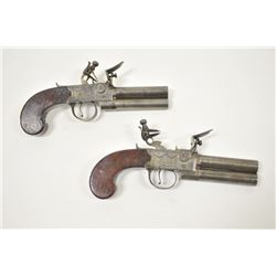 18PZ-7 O/U FLINTLOCK PAIR