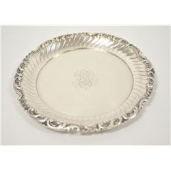 18OO-11 GERMAN SILVER SALVER