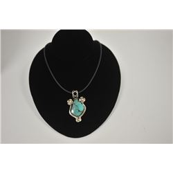 18LN-1-146 TURQUOISE NECKLACE