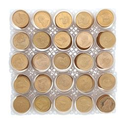 BULLION: [500] South African Krugerrand gold coins, Contain 1 troy ounce gold each; Assorted date. *