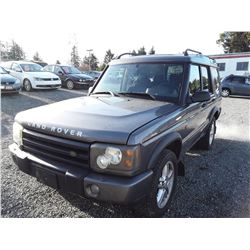 I5 --  2003 Land-Rover Discovery , Grey , 179585  KM's