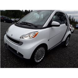 F2 -- 2011 SMART FORTWO COUPE, GREY, 123,725 KMS NO DEC'S