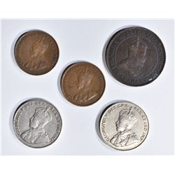 BETTER DATE CANADIAN COIN LOT: