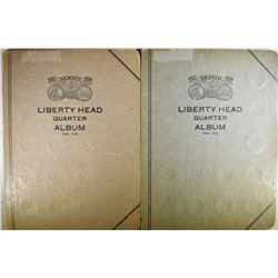 51-BARBER QUARTERS IN ALBUMS, MANY KEY DATES