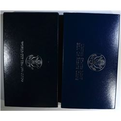 2 TWO-COIN PROOF SETS
