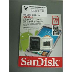 ScanDisk 128GB S Micro SD