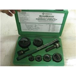 GreenLee 7238SB Punch Set