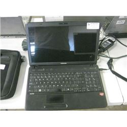 TOSHIBA LAP TOP AMD ATHALON II P340 DUAL CORE 2.20GHZ/ 4GB RAM 500G SATA WIN10 PRO- UNNACTIVATED, BA