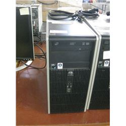 HP COMPAC dc5850 AMD ATHLON DUAL CORE 5200B 2.70GHZ / 2GB RAM / 500GB SATA / WIN10 PRO UNACTIVATED *