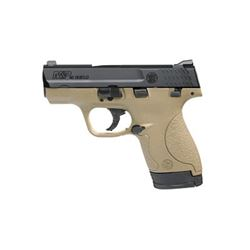 "S& W SHIELD 40S& W 3.1"" FDE 6& 7RD"