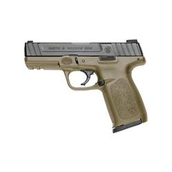 """S& W SD9 9MM 16RD 4"""" FDE FS 2MAGS"""