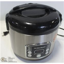 GROUP OF 2 HAMILTON BEACH RICE COOKERS