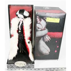 DISNEY VILLAINS DESIGN COLLECTION CRUELLA DE VILLE
