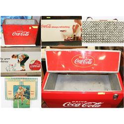 FEATURED LOTS: COCA COLA COLLECTIBLES
