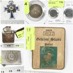 FEATURED LOTS: MILITARY COLLECTIBLES