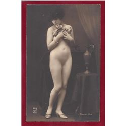Original 1920's Art Deco Parisian Nude Gelatin Photo