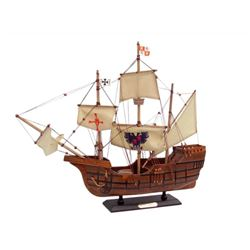 Wooden Model Ship, Columbus, Santa Maria