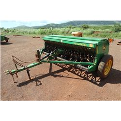 John Deere BD1110 End-Wheel Grain Drill w/ Spare Parts