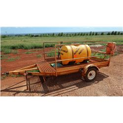 Trailer-Mounted Non-Potable Water Tank